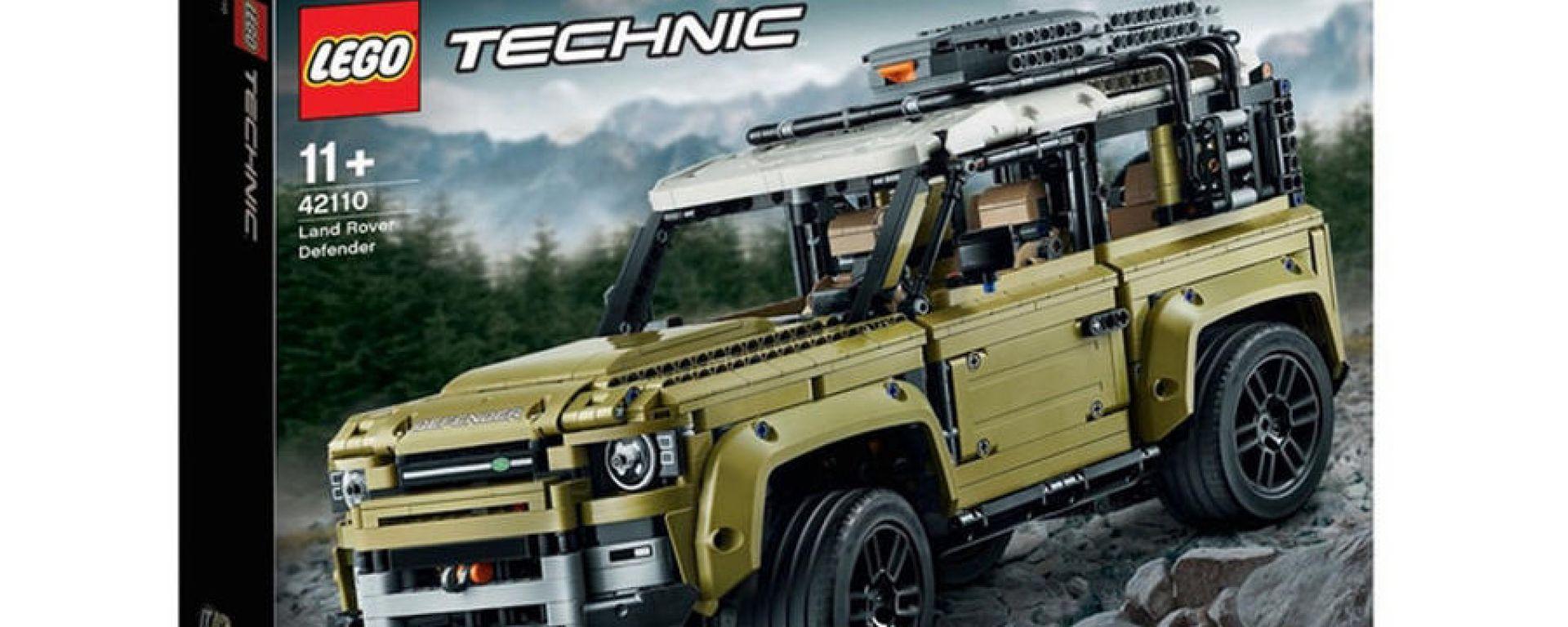 Nel modellino Lego svelate le forme della nuova Land Rover Defender 90