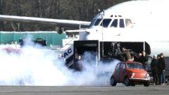 Nelle foto backstage di Mission Impossible 7 anche un aereo