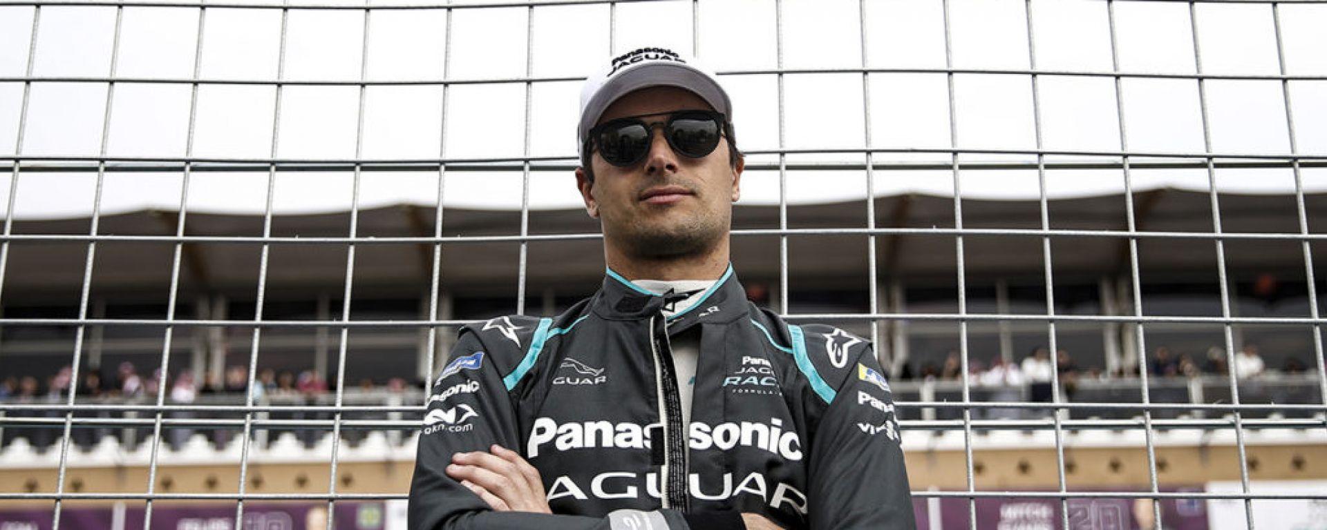 Nelson Piquet Jr, con il team Panasonic Jaguar nel 2018-19