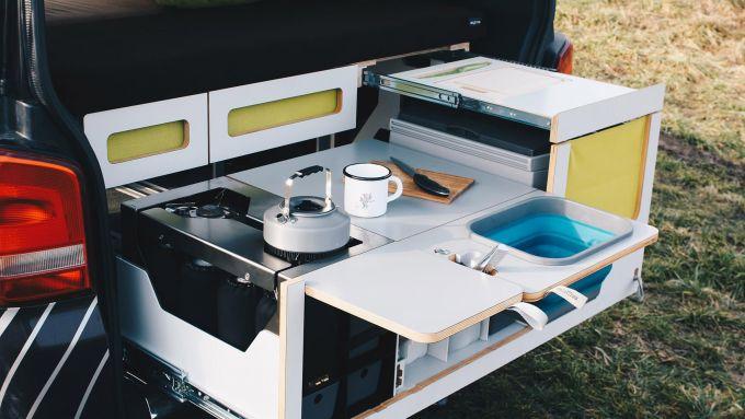 Nestbox by Studio 519: la cucina estraibile pronta all'uso