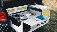 Nestbox by Studio 519: la cucina estraibile
