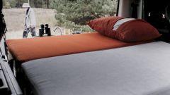 Nestbox by Studio 519: lo spazio occupato dal letto quando i sedili posteriori sono ripiegati