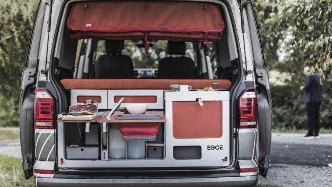 Nestbox by Sudio 519: il sistema completo alloggiato in un van