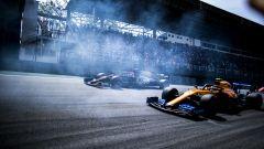 Netflix, Drive to Survive: Lando Norris (McLaren) e Kevin Magnussen (Haas)
