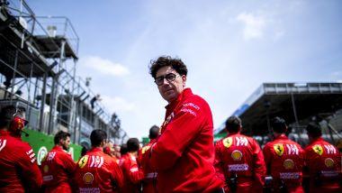 Netflix, Drive to Survive: Mattia Binotto (Ferrari)
