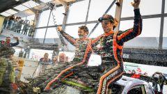 Neuville festeggia la sua vittoria al Rally di Polonia - WRC 2017 Rally Polonia