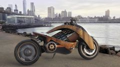 Newron EV-1, l'elettrica di legno pregiato