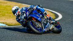 Niccolò Canepa in azione con la Yamaha Endurance