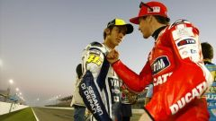 Nicky Hayden e Valentino Rossi - Moto GP