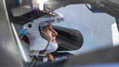 Nico Rosberg al volante della Volkswagen ID.R