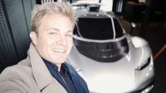 Nico Rosberg e la AMG One
