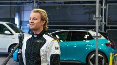 Nico Rosberg e la Volkswagen ID.3