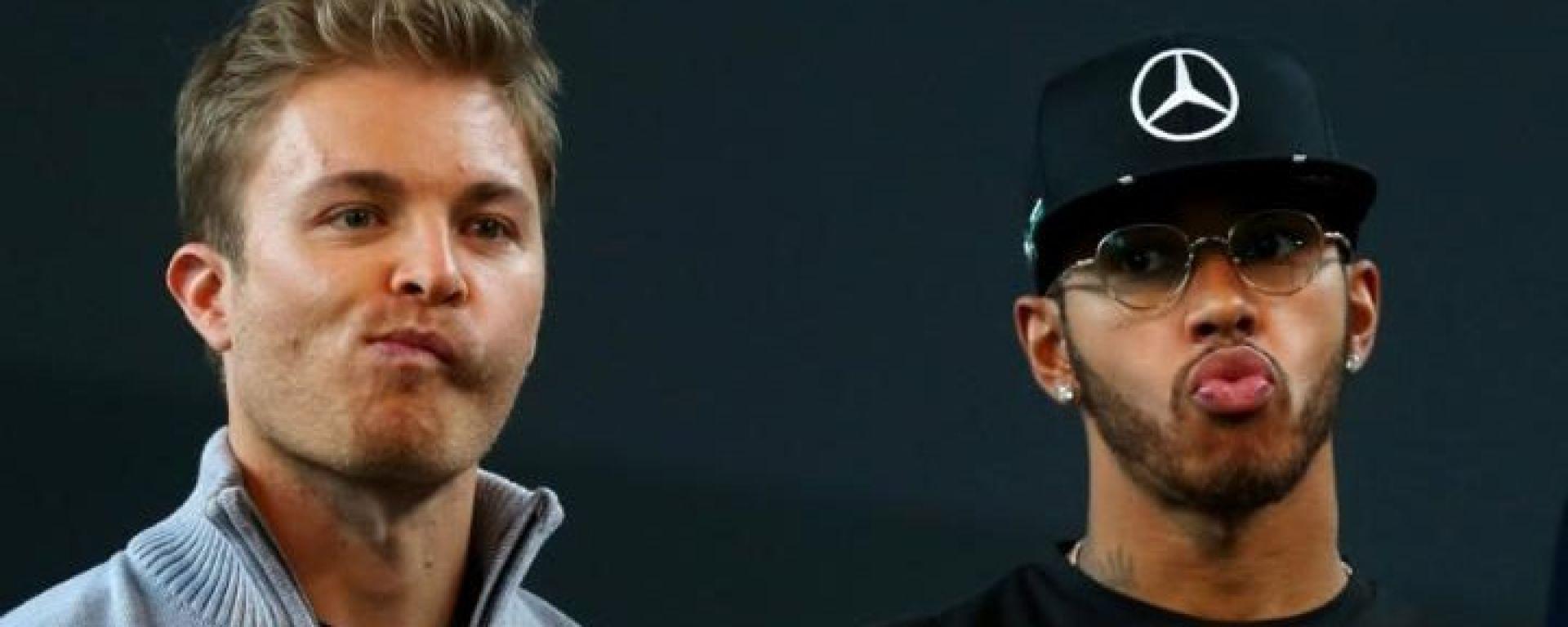 Nico Rosberg e Lewis Hamilton - Mercedes AMG F1