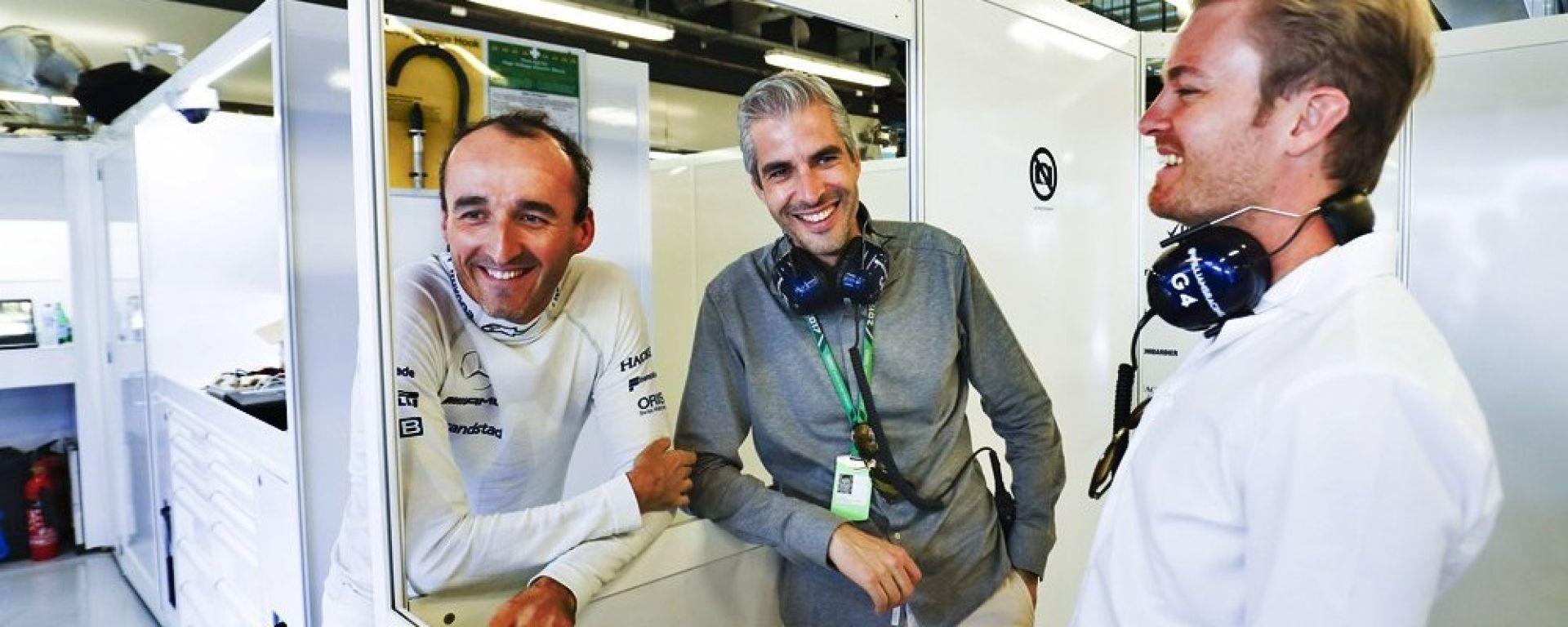 Nico Rosberg e Robert Kubica