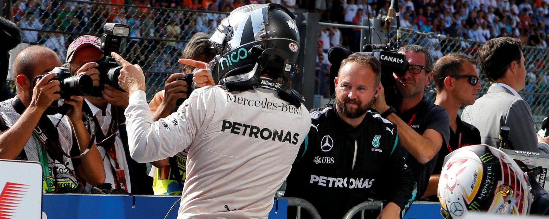 Nico Rosberg - GP Belgio