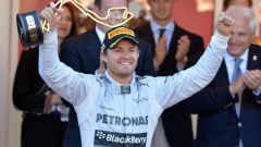 Nico Rosberg nel 2013, vincitore del GP di Monaco