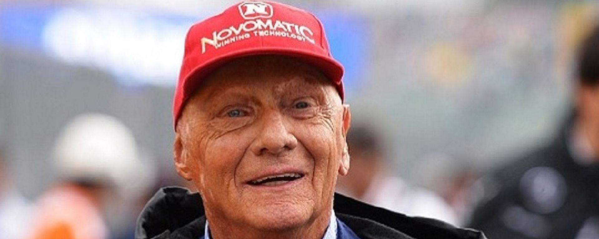 Niki Lauda, 70 anni, dal 2013 è presidente non operativo del team Mercedes F1