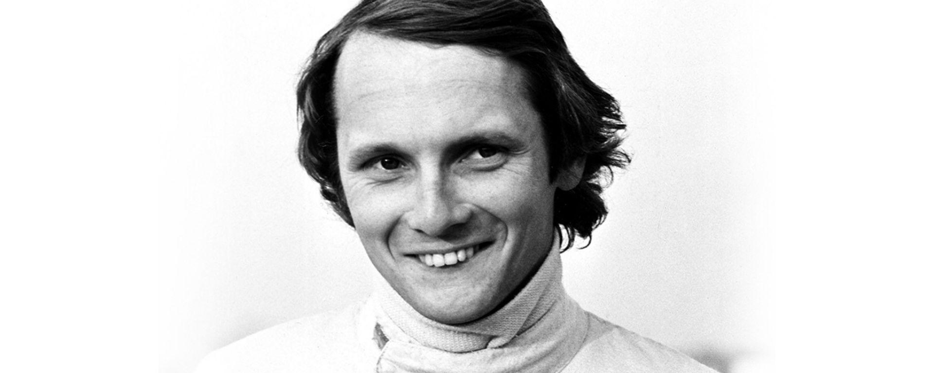 Niki Lauda ai tempi della Ferrari