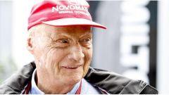 Niki Lauda, presidente non esecutivo della Mercedes