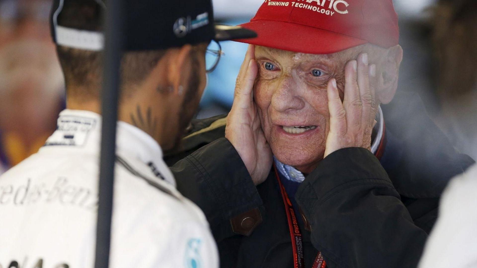 F1 2017 Niki Lauda Contrario All Introduzione Dell Halo