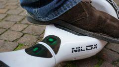 Nilox Doc Hoverboard: l'indicatore di carica della batteria