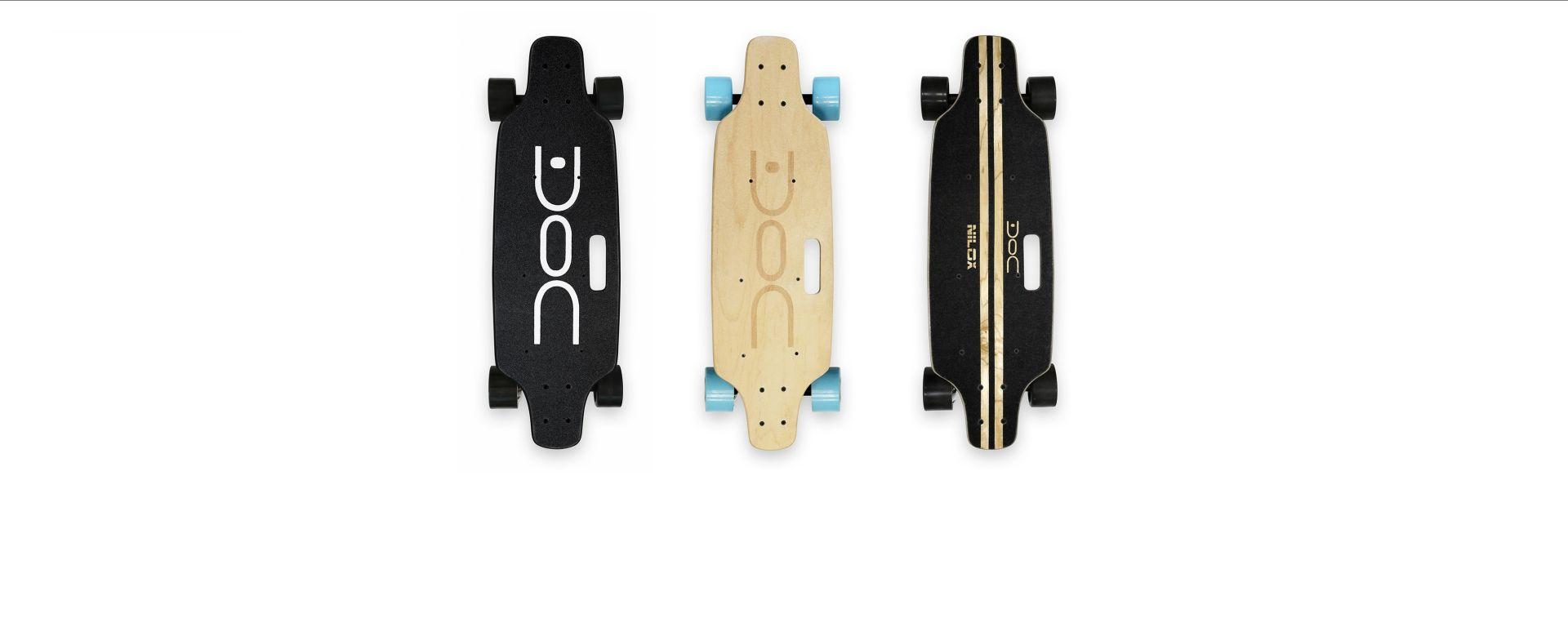 Nilox Doc Skate nelle tre varianti di colore