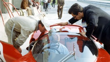 Nino Vaccarella Ferrari Forghieri