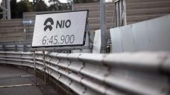 Nio EP9: il tabellone con il crono del nuovo giro record