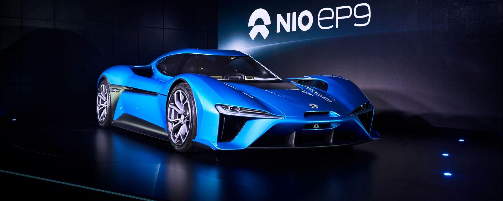 Nio EP9: la hypercar cinese è l'auto elettrica più veloce del mondo