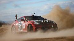 Nissan 350Z Rally Car, con corna e naso rosso: meglio delle renne di Babbo Natale?