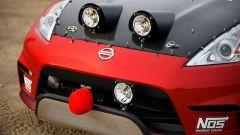Nissan 350Z Rally Car, dettaglio del frontale