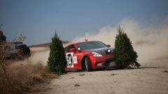 Nissan 350Z Rally Car, finite le Feste, si smonta l'albero