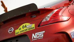 Nissan 350Z Rally Car, in coda è stato aggiunto un profilo aerodinamico