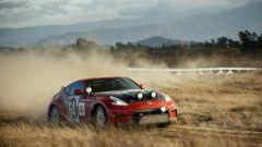 Nissan 350Z Rally Car, la potenza è di circa 350 CV
