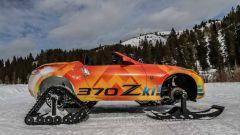 Nissan 370Zki Concept: la sportiva diventa una motoslitta - Immagine: 4