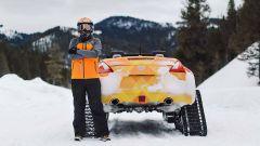 Nissan 370Zki Concept: la sportiva diventa una motoslitta - Immagine: 7