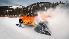 Nissan 370Zki Concept: la sportiva diventa una motoslitta - Immagine: 1