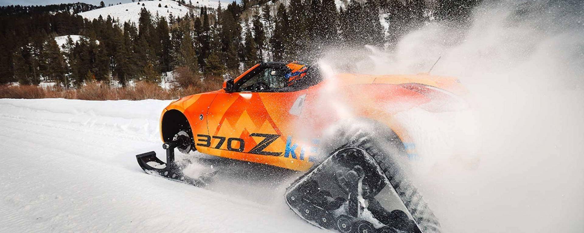 Nissan 370Zki Concept: la sportiva diventa una motoslitta