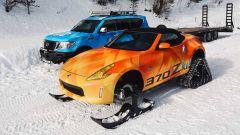Nissan 370Zki Concept: la sportiva diventa una motoslitta - Immagine: 11