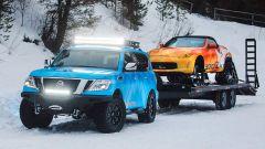 Nissan 370Zki Concept: la sportiva diventa una motoslitta - Immagine: 12