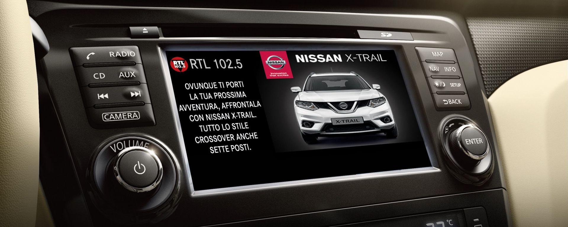 Nissan: nuova comunicazione DAB based