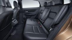 Nissan Ariya 2020: il divano posteriore