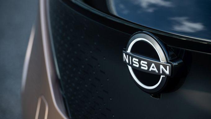 Nissan Ariya 2020: il nuovo logo Nissan illuminato