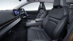Nissan Ariya 2020: sedili e plancia