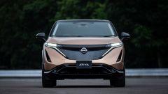 Nissan Ariya 2020: visuale anteriore