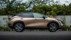 Nissan Ariya 2020: visuale laterale