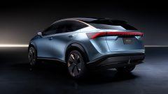 Nissan Ariya: 3/4 posteriore sinistro
