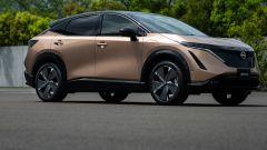 Crisi microchip e Nissan Ariya, vendite in ritardo. Quando esce?