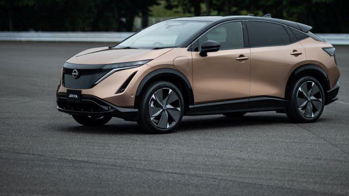 Nissan Ariya: dopo la berlina Leaf arriva il SUV compatto elettrico