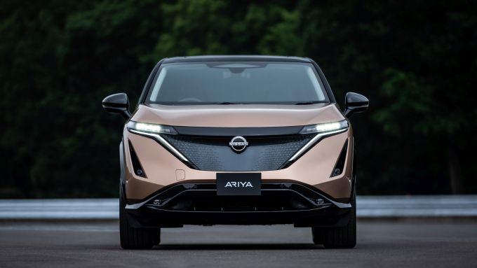 Nissan Ariya: frontale